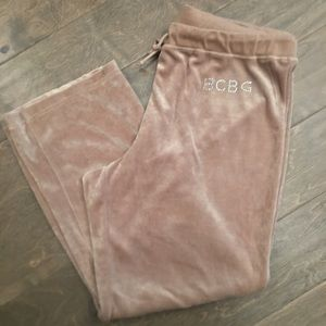 BCBCMAXAZRIA Velour Rhinestone Pants Size 1X EUC